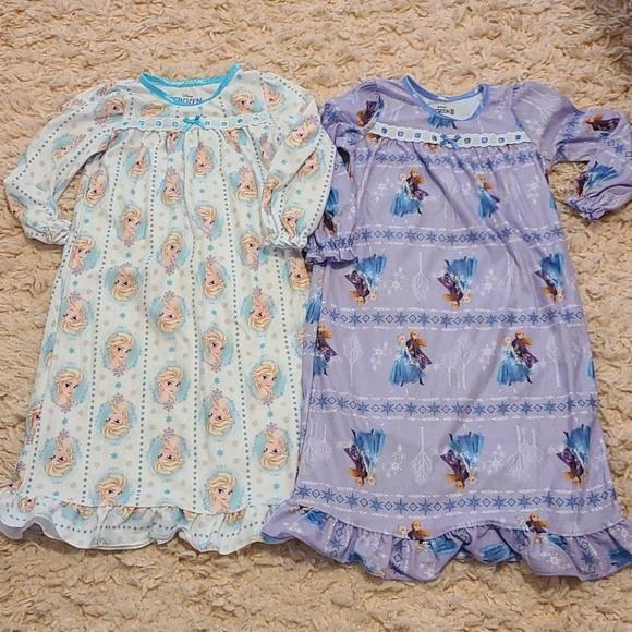 New Disney Frozen Flannel Pajamas